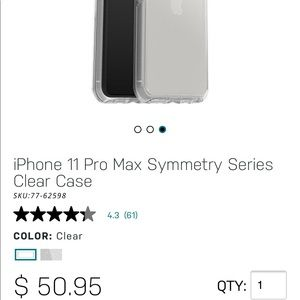 iPhone 11 Pro Max OtterBox Case